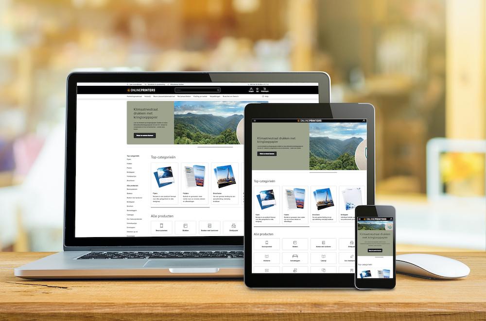 Onlineprinters Webshop Nieuw