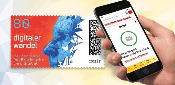 Postzegel Qr App