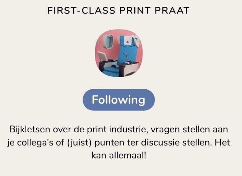 Clubhouse Printpraat