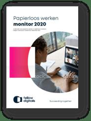 Papierloos Werken Monitor 2020