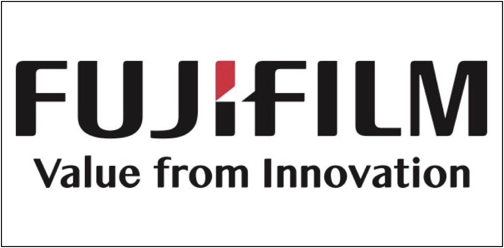 Fujifilm Logo White