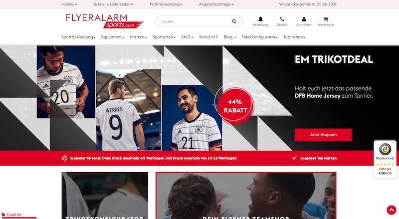 Fa Sports Website