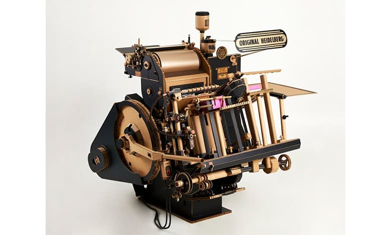 Heidelberg Letterpress Made With Paper Cover