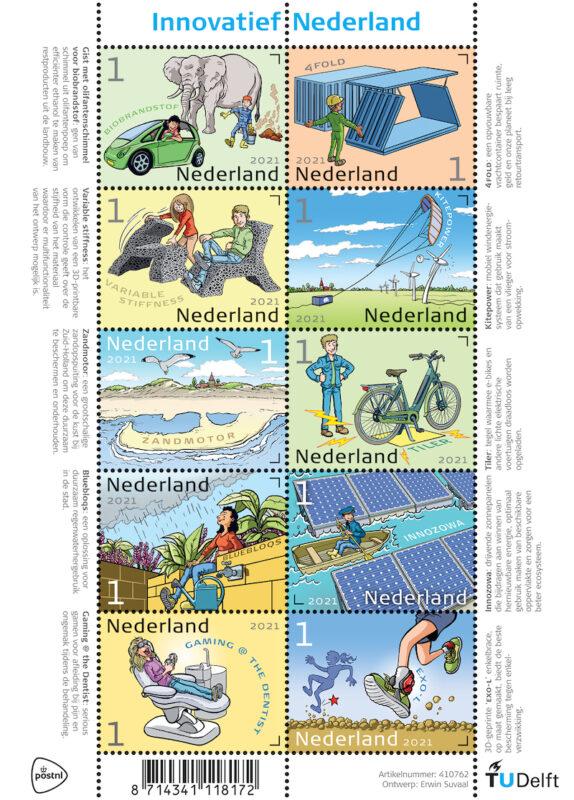 Postzegelvel Innovaties