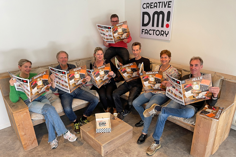 Dm Creative Factory Jubileumkrant