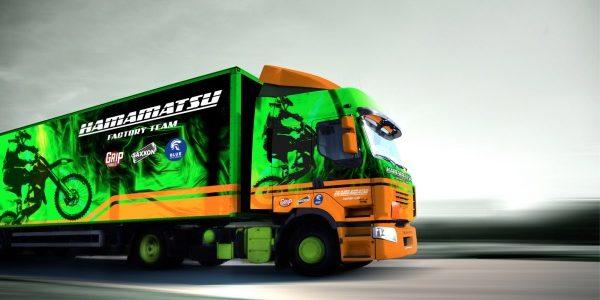 Roland VersaEXPRESS RF-640 8 Colour_Truck