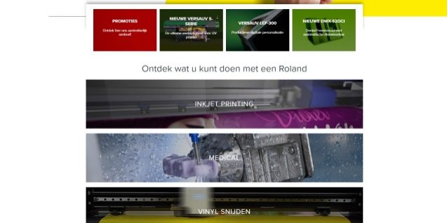 Roland home page