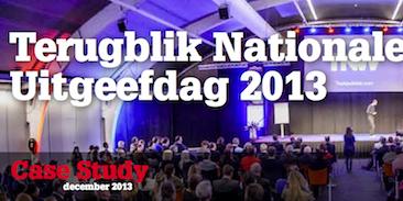 Terugblik Nationale Uitgeefdag 2013