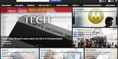 YahooTech Magazine