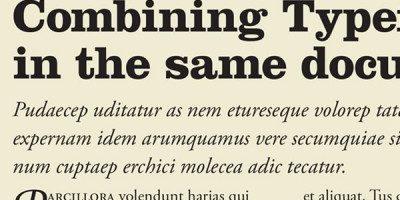 Adobe Inspire fonts